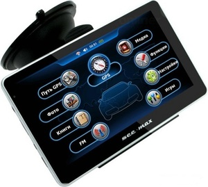 Навигатор GPS SeeMax navi E510HD BT